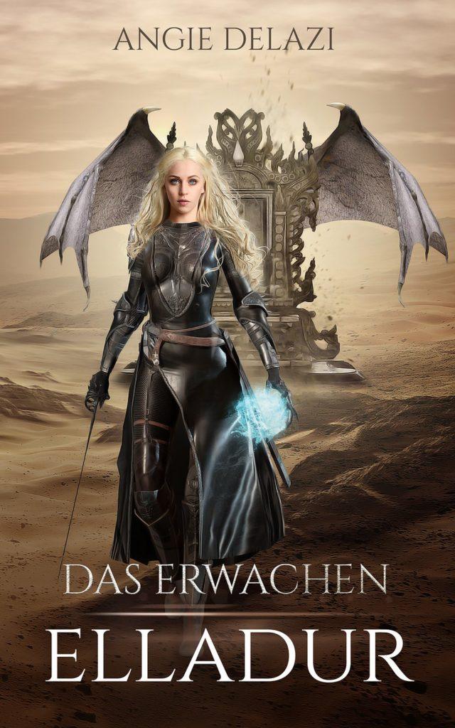 """Buchcover: """"Elladur: Das Erwachen"""" von Angie Delazi"""