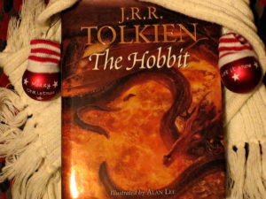 """The Hobbit"" von J. R. R. Tolkien, mit Illustrationen von Alan Lee"