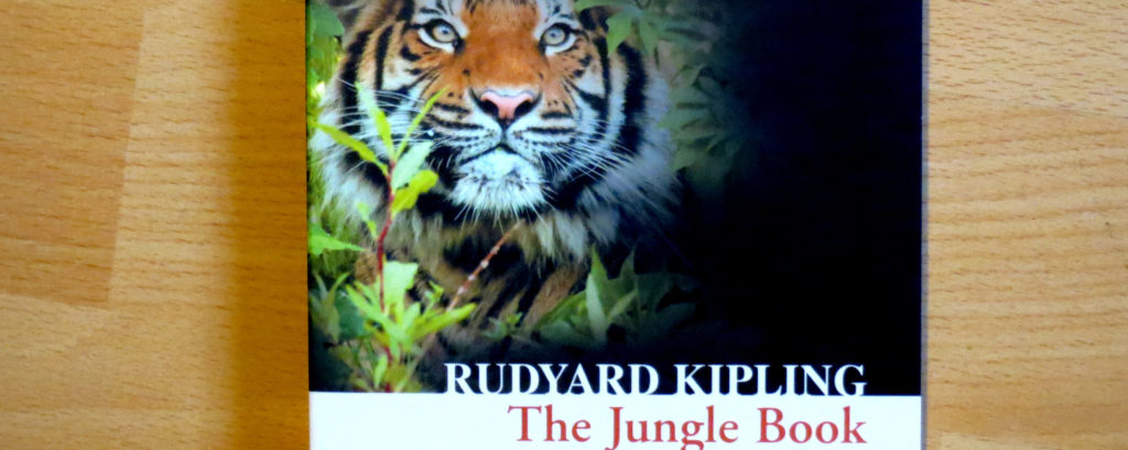 "Cover-Auschnitt ""The Jungle Book"" von Rudyard Kipling"