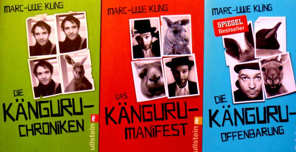 """""""Die Känguru-Chroniken"""", """"Das Känguru-Manifest"""" und """"Die Känguru-Offenbarung"""" von Marc-Uwe Kling"""