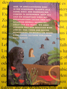 Cover-Rückseite von Lola Randl: Die Krone der Schöpfung